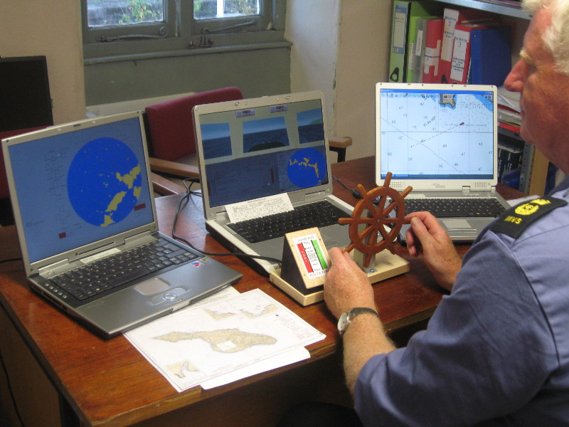 Bristol MVS with Radar, 3d view and chart plotter